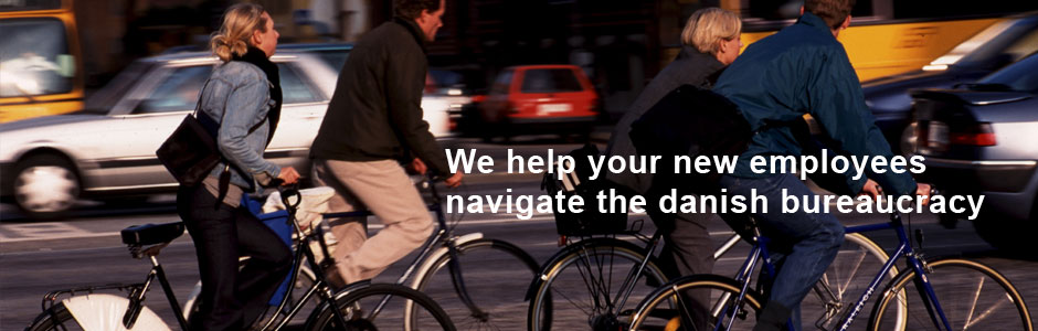 We help your new employees navigate the danish bureaucracy